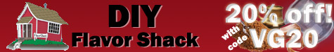 DIY Flavor Shack 20% off discount coupon